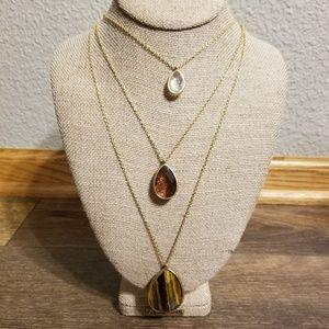 Chloe + Isabel Minaret 3-Row Convertible necklace